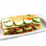 La receta del día: Lasaña boloñesa con calabacín