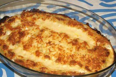 La receta del día: Lasaña de marisco