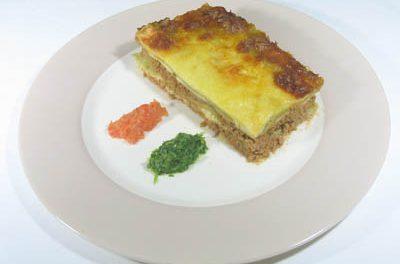 La receta del día: Lasaña verde a la napolitana