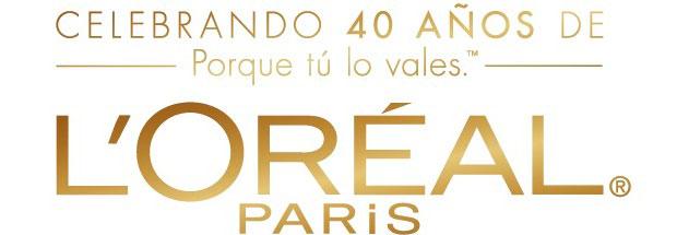 L'Oréal Paris celebra 40 años de: Porque yo lo valgo