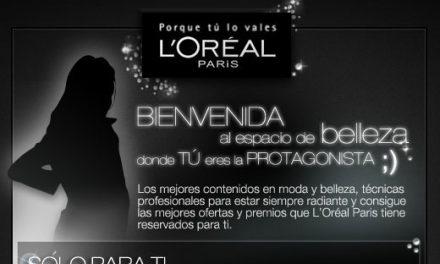 L'oréal Paris inaugura su página en facebook