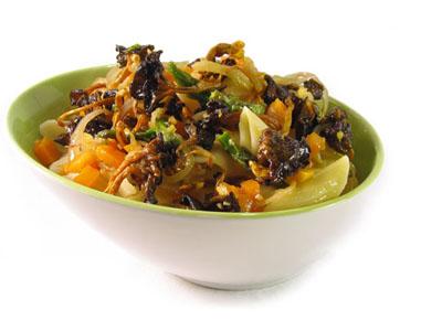La receta del día: Macarrones salteados con verduras