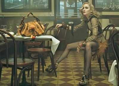 Madonna es la imagen de la nueva campaña de Vuitton