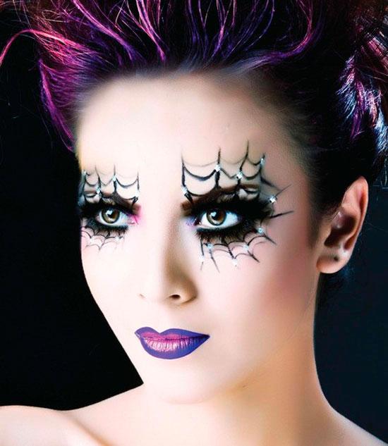 Maquillaje para Halloween: aprovecha los tonos que nunca te gustaron y aun guardas