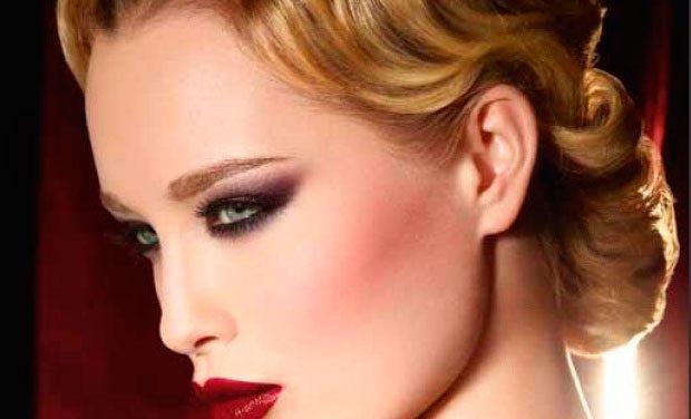 Maquillaje otoño 2012 Black Tango