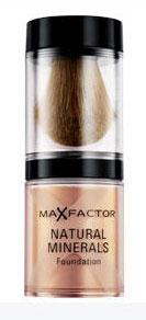 El nuevo maquillaje Natural Minerals de Max Factor