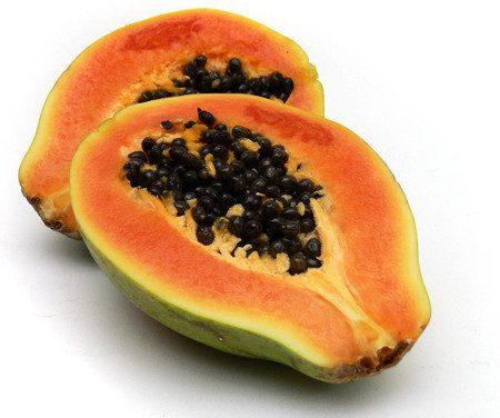 Mascarilla para cutis graso de papaya