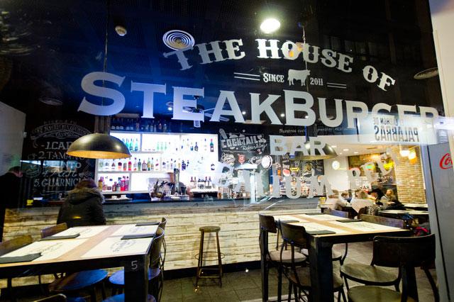 Las mejores hamburguesas de Madrid: The House of SteakBurguer