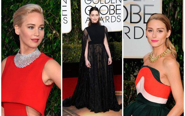 Los mejores maquillajes de los Globos de Oro fueron de Dior