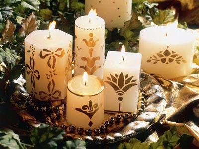 Como preparar la mesa para navidad