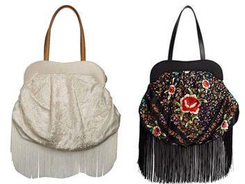 Mira la Marela se inspira en los mantones de manila para su colección de bolsos verano 2009