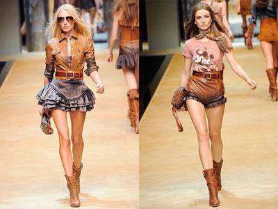Dolce & Gabbana, moda cowboys para la primavera 2010