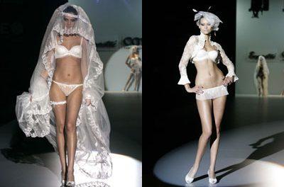Moda íntima para novias