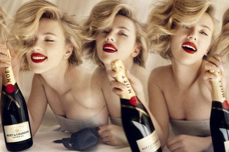 Moët Chandon y Scarlett Johansson