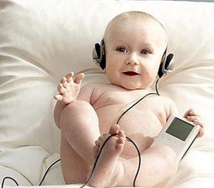 Estimula con música a tu bebé
