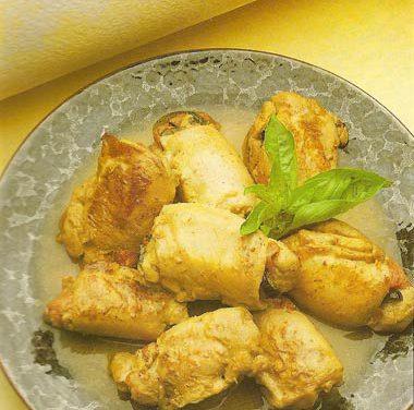 La receta del día: Muslitos de pollo rellenos de pimiento