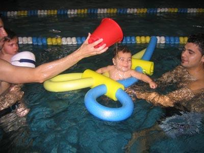 Tu bebé ya puede ir a la piscina