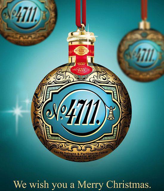 Esta Navidad, empápate de espíritu navideño con 4711