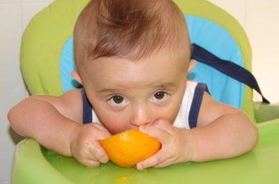 La papilla de frutas: haz que le guste