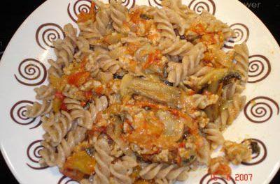 La receta del día: Pasta integral con pavo