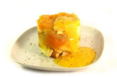 La receta del día: Pastel de pan con patata y calabaza