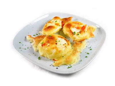 La receta del día: Patatas gratinadas con queso emmenthal