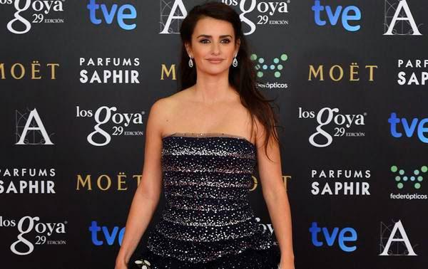 Las peor vestidas de Los Goya: Top Ten