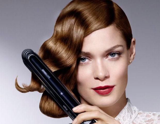 Plancha para el cabello Braun SensoCare