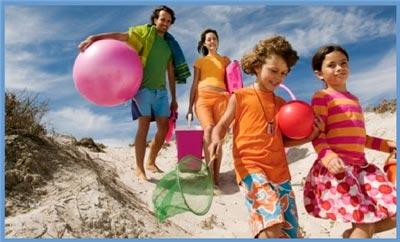 Día de playa con los niños