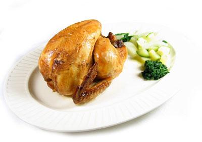 La receta del día: Pollo asado al horno con verduras