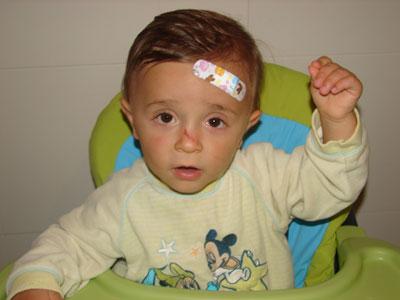 Prevenir accidentes en el hogar cuando el niño comienza a andar