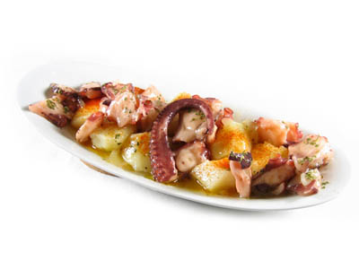 La receta del día: Pulpo con patatas al microondas