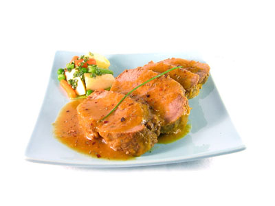 La receta del día: Redondo de ternera guisado express con verduras y manzana