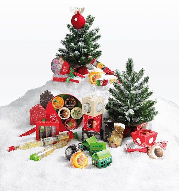 Regalos de The Body Shop para una Navidad solidaria
