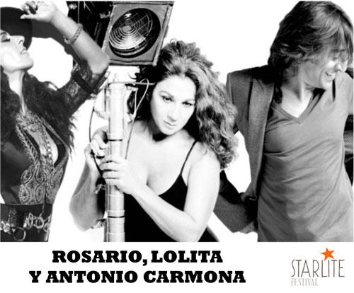 Ganadores del sorteo: entradas del concierto Rosario, Lolita y Antonio Carmona – Starlite Festival