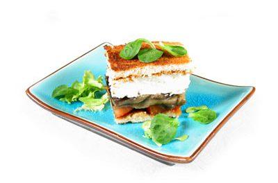 La receta del día: Sándwich de berenjena