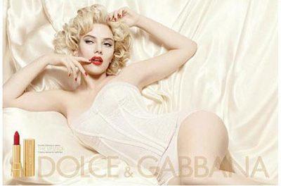 Scarlett Johansson para D&G