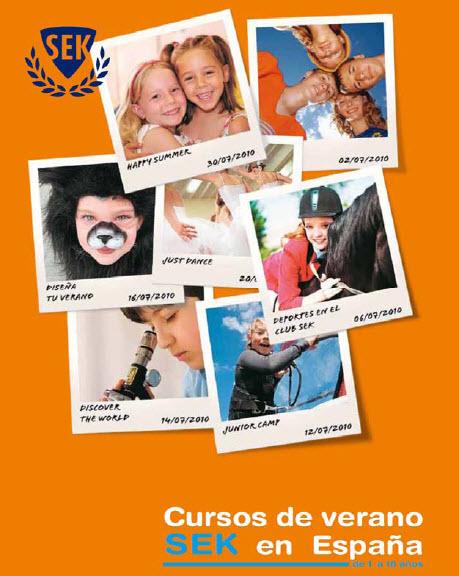 Cursos de verano SEK en España