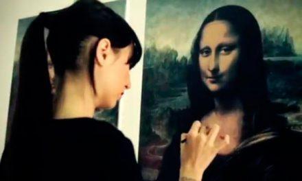 Shiseido restaura la Gioconda solo con maquillaje