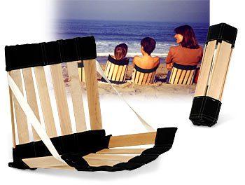 Silla ergonómica para la playa