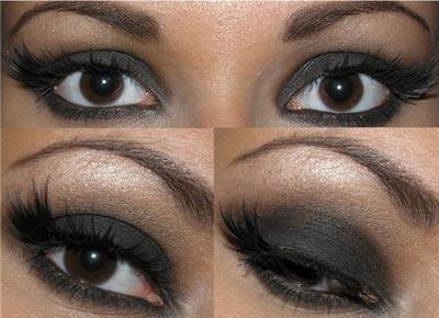 Como conseguir la sombra negra «efecto gótico»