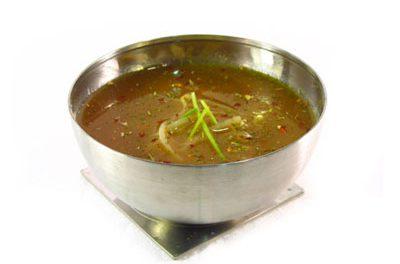 La receta del día: Sopa de arroz integral con germinados