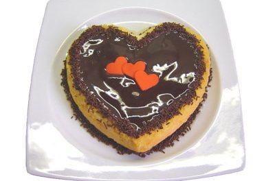 La receta del día: Tarta de San valentin