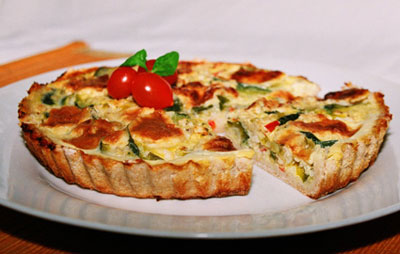 La receta del día: Tartaleta de verduras