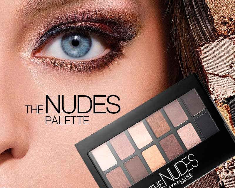 The Nudes, Nueva paleta de Maybelline