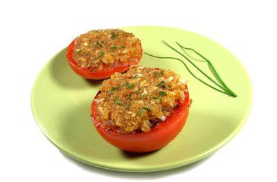 La receta del día: Tomates al horno con perejil y ajo picado