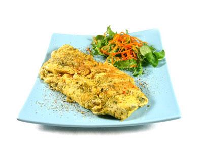 La receta del día: Tortilla de queso al orégano