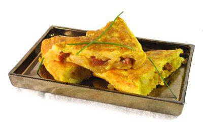 La receta del día: Tortilla de patata con chorizo