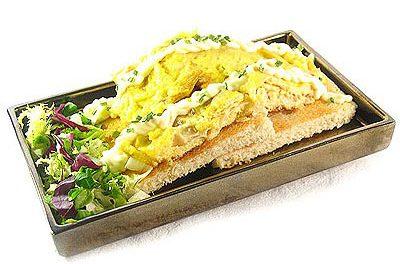 La receta del día: Tosta de tortilla de jamón york con queso emmenthal