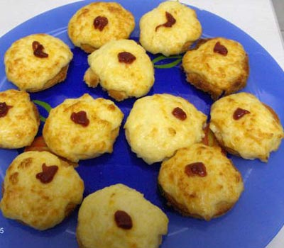 La receta del día: Tostaditas de queso